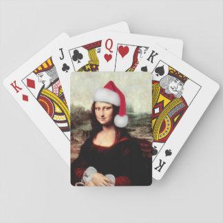 Mona Lisas julSanta hatt Kortlek