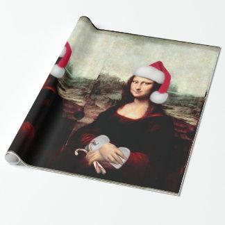 Mona Lisas julSanta hatt Presentpapper