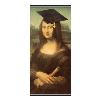 Mona Lisas studentendag Reklamkort
