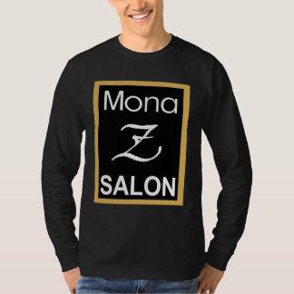 Mona Z logotypmanar långärmad T Shirt