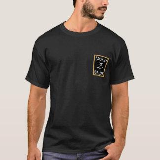 Mona Z logotypmanar logotyp för baksida för T-shirts