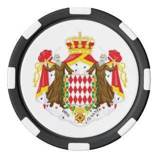 Monaco flagga poker marker
