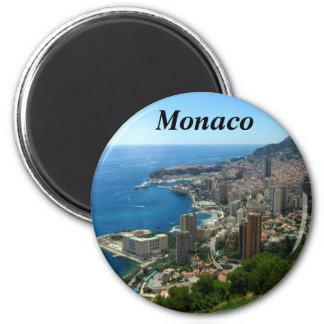 Monaco frankrikemagnet magnet rund 5.7 cm