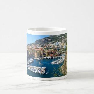 Monaco hamn kaffemugg