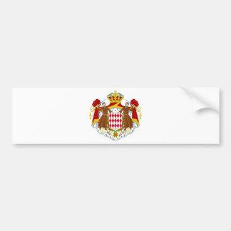 Monaco vapensköld bildekal
