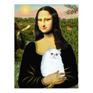 MonaLisa - persisk kattunge #49 för vit Vykort