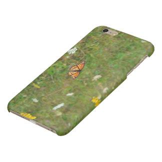 Monarkfjäril i ett fodral för fältIphone 6/6s plus