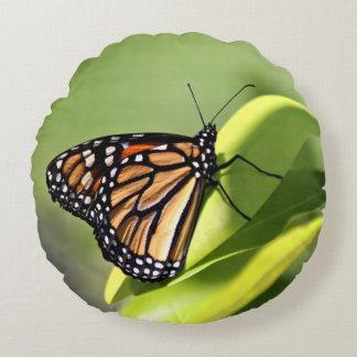 Monarkfjäril Rund Kudde