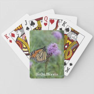 Monarkfjäril Spelkort