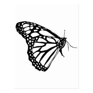 Monarkfjäril Vykort