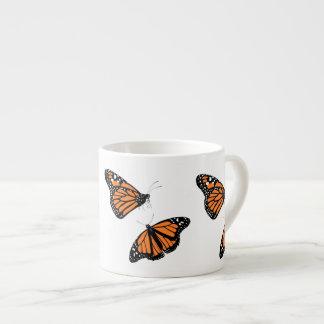 Monarkfjärilar Espressomugg