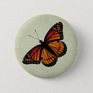 Monarkfjärilen knäppas standard knapp rund 5.7 cm