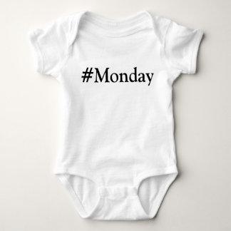 #Monday dag av veckan Tee Shirt