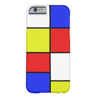 Mondriaan #19 barely there iPhone 6 skal