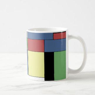 Mondrian #11 kaffemugg