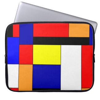 Mondrian #9 laptop fodral