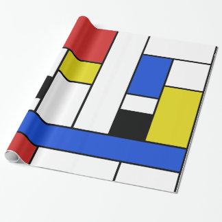 """Mondrian fodrar glansigt slående in papper, 30"""" x presentpapper"""