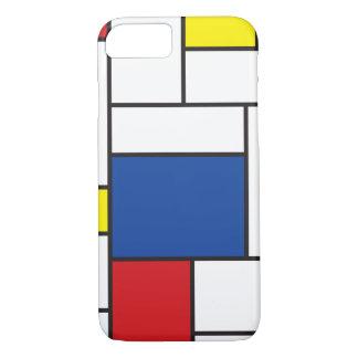 Mondrian Minimalist De Stijl modern konstfodral