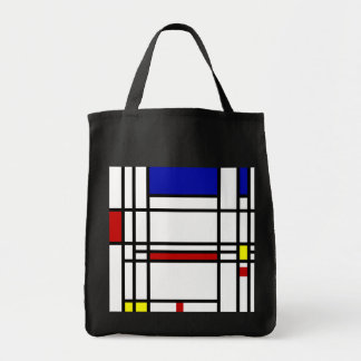 Mondrian modern konst mat tygkasse