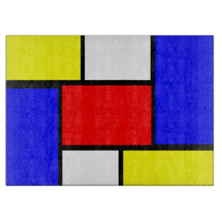 Mondrian mönsterstil