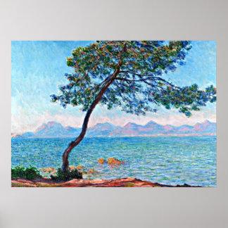 Monet - de Esterel bergen Poster