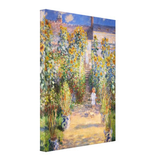 Monet konst canvastryck