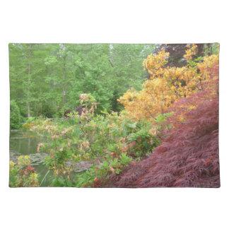 Monets trädgårdar på den Giverny bordstabletten Bordstablett