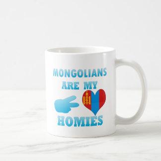 Mongolians är min Homies Kaffemugg