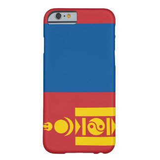 Mongoliet flagga barely there iPhone 6 skal