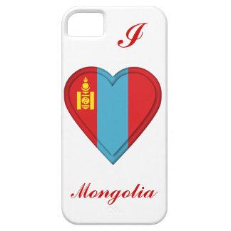 Mongoliet mongolisk flagga iPhone 5 fodral