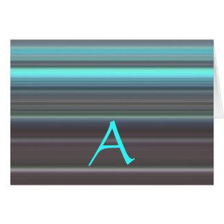 Mongram kort A