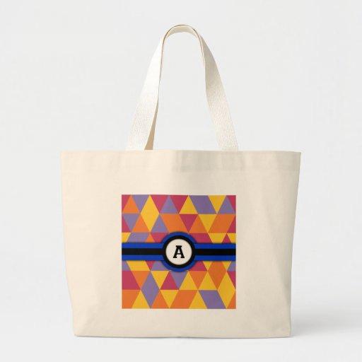 Monogram A Tote Bag