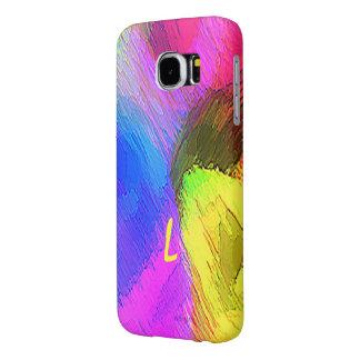Monogram befläckt Samsung galaxfodral Samsung Galaxy S6 Fodral