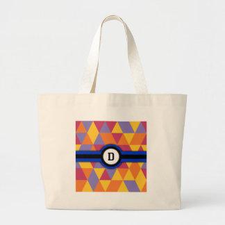 Monogram D Tote Bags