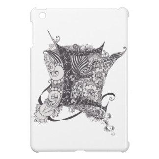 Monogram E iPad Mini Fodral