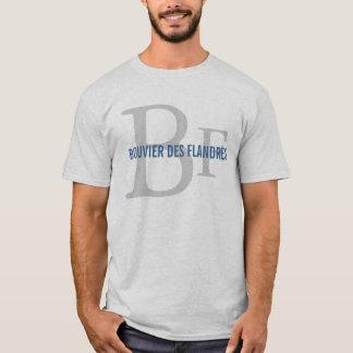 Monogram för avel för Bouvier des Flandres T-shirt