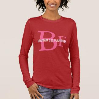 Monogram för avel för Bouvier des Flandres T Shirt