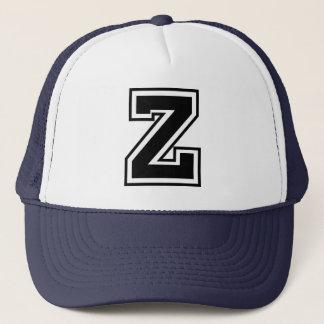 """Monogram för brev """"Z"""" Truckerkeps"""