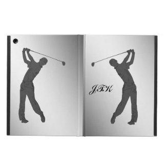 Monogram för GolfSwingeranpassade iPad Air Fodral