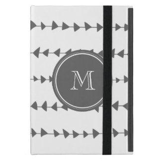 Monogram för pilar för kolvit Aztec iPad Mini Skydd