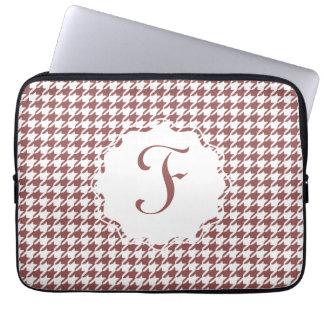 """Monogram Houndstooth 13"""" laptop sleeve Datorskydd"""