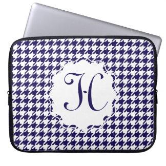 "Monogram Houndstooth 15"" laptop sleeve Laptop Datorfodral"
