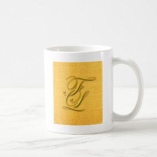 Monogram Kaffemugg