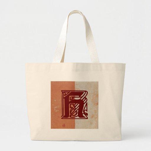 monogram tygkassar