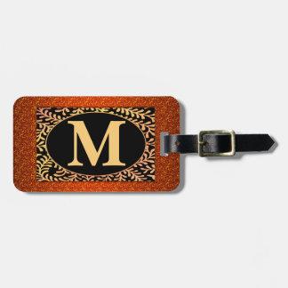 Monogrambagagemärkre Bag Tag