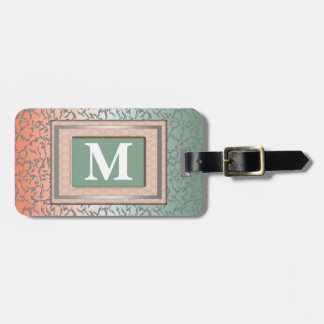 Monogrambagagemärkre Bag Tags