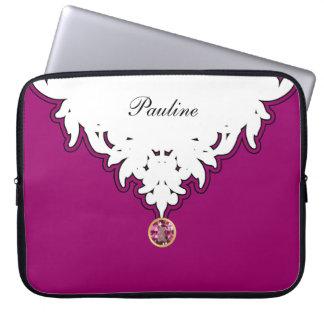 MonogramBling laptop sleeve Laptopskydd Fodral