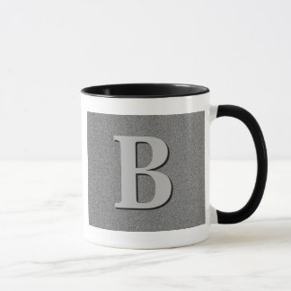 Monogrambrev B Mugg