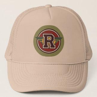 "Monogrambrev ""R "", Truckerkeps"