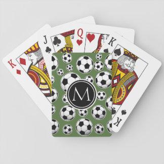 Monogramfotboll - bästa träd spel kort